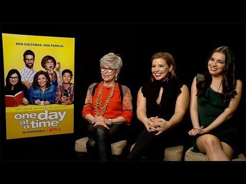Rita Moreno, Justina Machado & Isabella Gomez Interview: One Day at a Time | Netflix