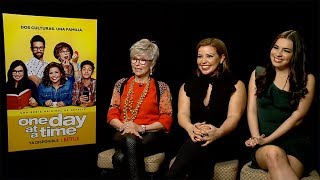 Rita Moreno, Justina Machado & Isabella Gomez Interview: One Day at a Time | Netflix
