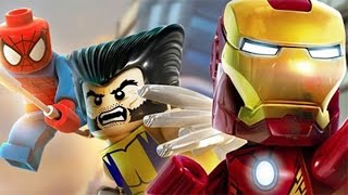LEGO Marvel Super Heroes Gameplay #8