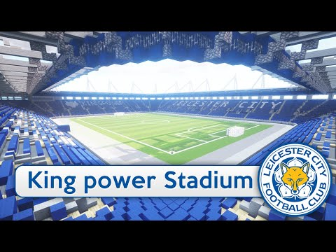 Minecraft - MEGABUILD - King Power Stadium (Leicester City FC) + DOWNLOAD [Official]