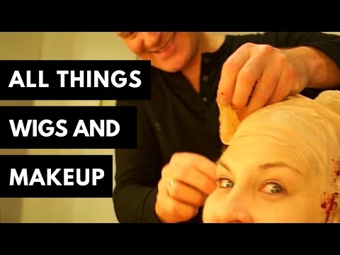 All Things Wig Making, Wigs and Theatrical Makeup