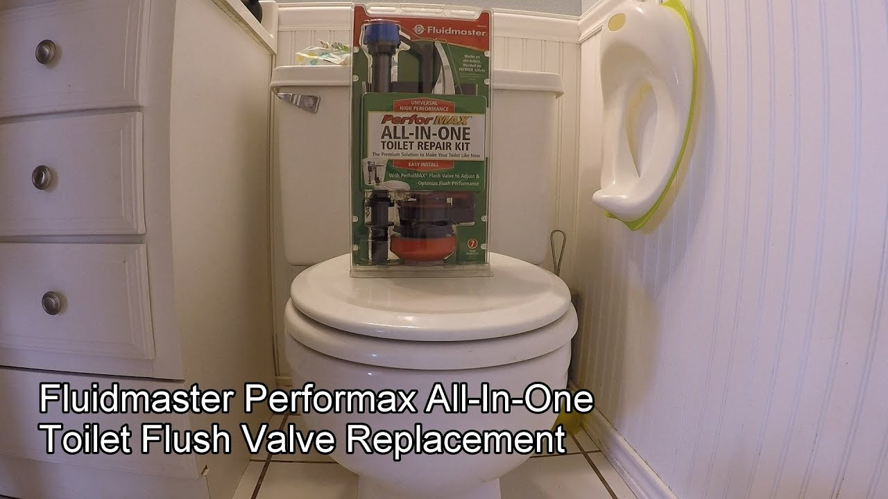 How To Fix Toilet Leak Fluidmaster All In One Complete