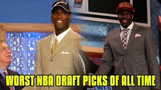 Worst Draft Picks By Every Team In The NBA!