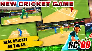 Real Cricket Go Gameplay | Better Then WCC2 Lite