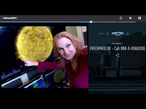 Sirius XM Radio Interview with The Space Weather Woman