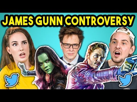 College Kids React to Guardians of the Galaxy Controversy James Gunn Fired