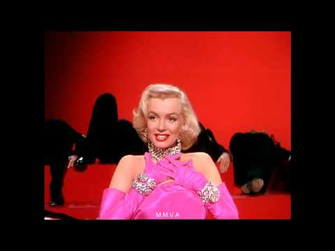 "Marilyn Monroe in ""Gentlemen Prefer Blondes"" - ""Diamonds Are A Girls Best Friend"""