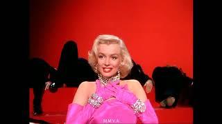 """Marilyn Monroe In """"gentlemen Prefer Blondes""""   """"diamonds Are A Girls Best Friend"""""""
