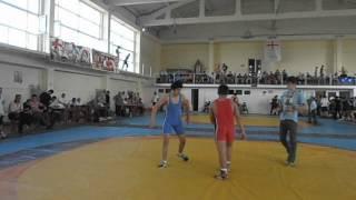 Gio Shavadze - Batumi 2012 - Tavisufali chidaoba    FreesTyle WresTlingggg )))