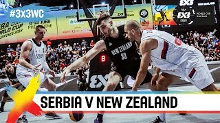 Serbia v New Zealand | Full Game | FIBA 3×3 World Cup 2018