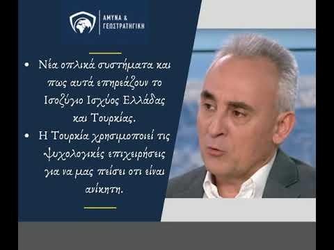 Κώστας Γρίβας: Νέα οπλικά συστήματα και πως επηρεάζουν το Ισοζύγιο Ισχύος Ελλάδας και Τουρκίας.