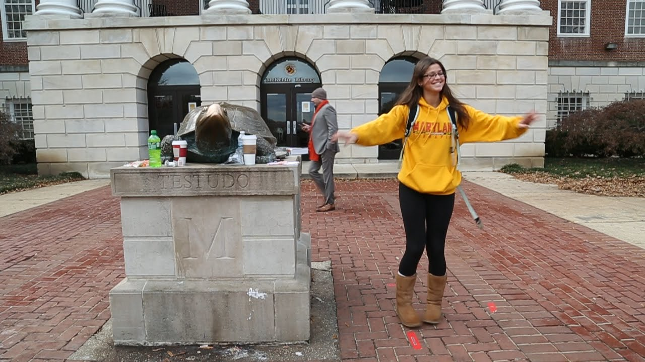 Umd Finals Fall 2020.Watch University Of Maryland Students Shake Off Finals Stress
