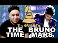 Prince Tribute - Bruno Mars & The Time | The 59th Annual Grammy Awards 2017 REACTION!!!