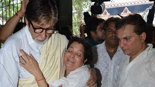 Bollywood Celebrities at Aadesh Shrivastava's prayer meet | Bollywood News