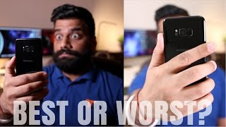 Samsung Galaxy S8+ Iris Scanner Vs Fingerprint Scanner - Worst or Best?