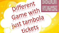 2018 UNIQUE TAMBOLA GAMES  WITH TAMBOLA TICKETS // FUN GAMES FOR KITTY PARTY