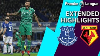Everton v. Watford | PREMIER LEAGUE EXTENDED HIGHLIGHTS | 12/10/18 | NBC Sports