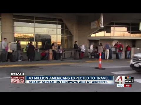 Thanksgiving travel peaks at KCI