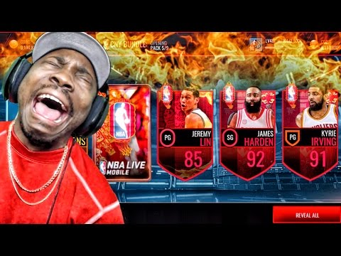 CHINESE NEW YEAR PACK OPENING & NEW SETS! NBA Live Mobile 16 Gameplay Ep. 66