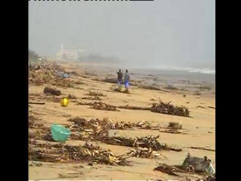 Aftermath Kalpakkam, Tamilnadu - Tsunami 2004