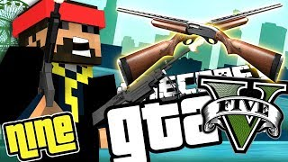 Minecraft GTA 5: TIER 5 SHOTGUN CUSTOMIZATION!! [9]