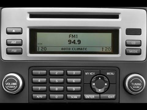 Update магнитолы Volvo S80 установка декодера с Bluetooth.