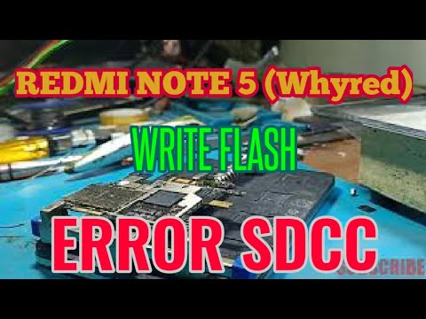 xiaomi-redmi-note-5-(whyred)-write-flash-error-sdcc