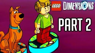 LEGO Dimensions Scooby Doo Gameplay Part 2 - Level + Team Pack Walkthrough!! (PS4/XB1 1080p HD)