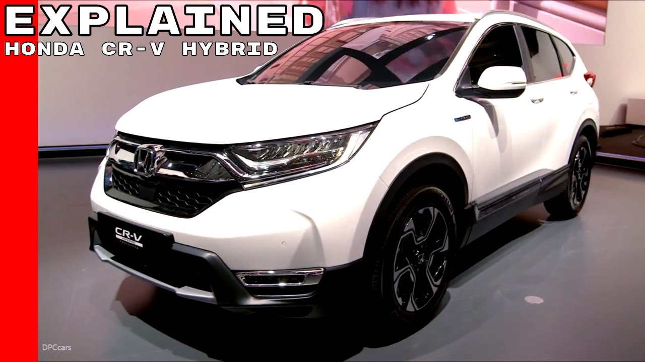 2018 Honda CR-V Hybrid Prototype Explained - YouTube
