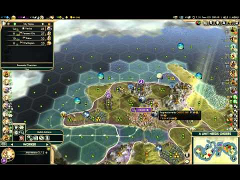 Civilization V BNW Venice Liberty Commerce Autocracy Deity Domination 01