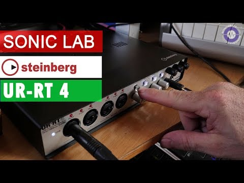 Sonic LAB: Steinberg UR-RT4 Interface With Neve Transformers