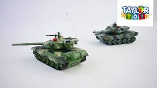 Дитяча іграшка Ігровий набір на радиопуравлении Танковий бой33820 (12) з акумулятором 3.6 V,