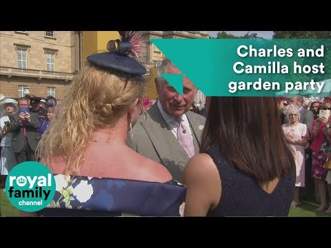 Charles and Camilla host Buckingham Palace garden party