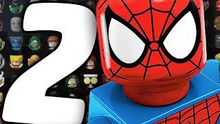 Все Персонажи - LEGO Marvel