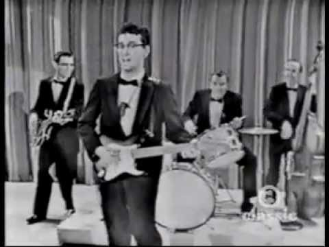 Buddy Holly - Peggy Sue Live