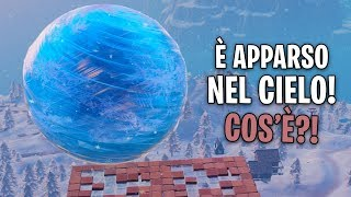 It's APPEARED A Cristallinal SPHERE IN CIELO with the Patch! Fortnite, Fortnite