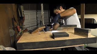 Making an Arm Wrestling Table