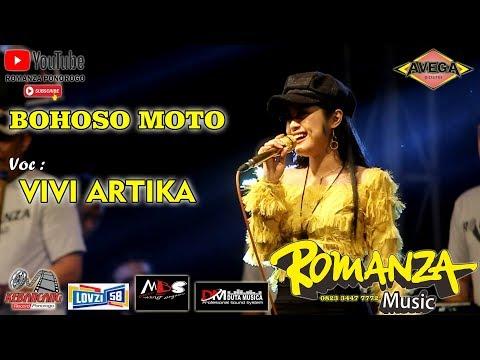 VIVI ARTIKA - BOHOSO MOTO - ROMANZA MUSIC LIVE ANNIVERSARY TEAM BOLA VOLLY DVC