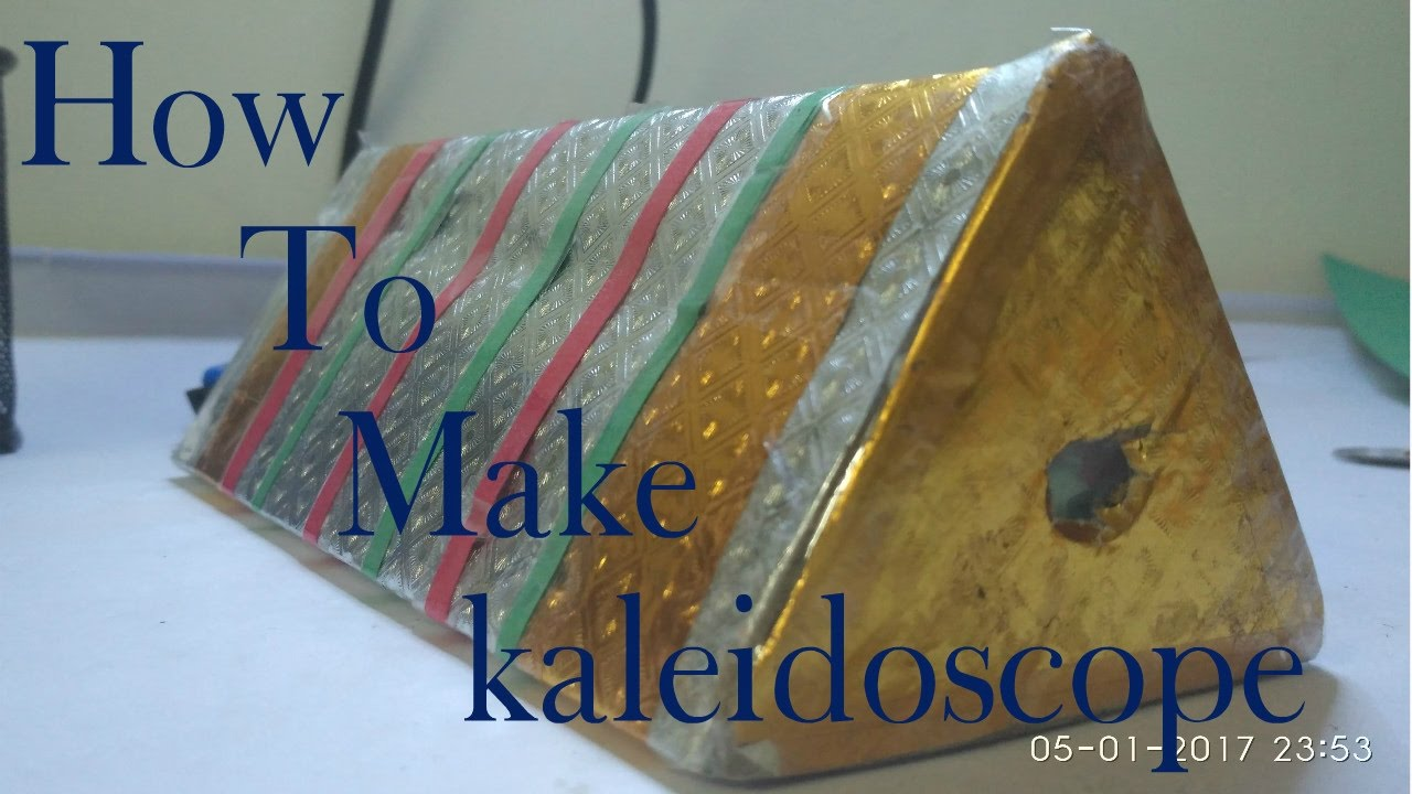 How to make a kaleidoscope 13