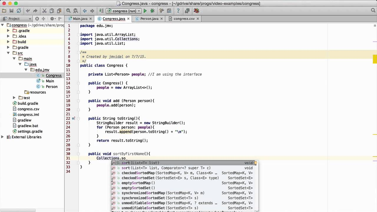 Java Collections sort Collections binarySearch Example