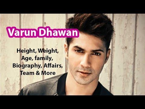 Varun Dhawan Height Weight Age Salary Net Worth And Girlfriends