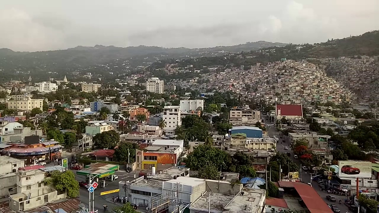 Port Au Prince City Landscape In Haiti Youtube