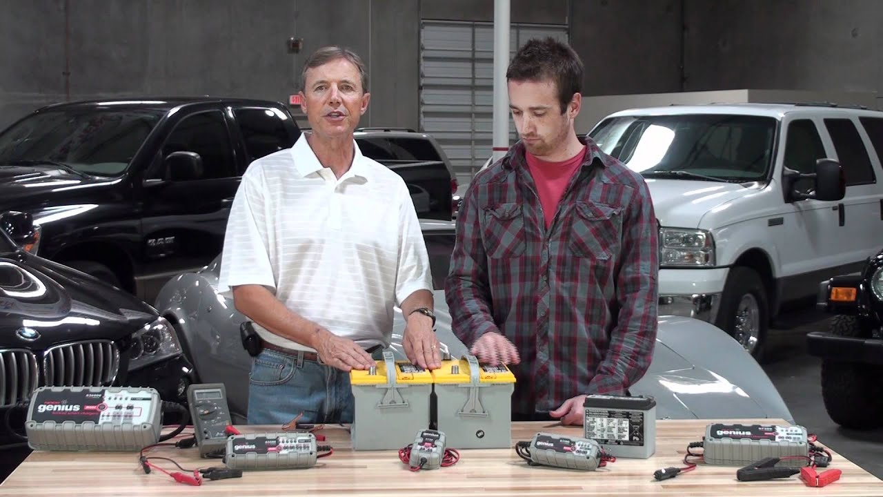 Wiring Diagram For Caravan Battery Charging Human Hand Anatomy Two 12v Batteries In Parallel Youtube