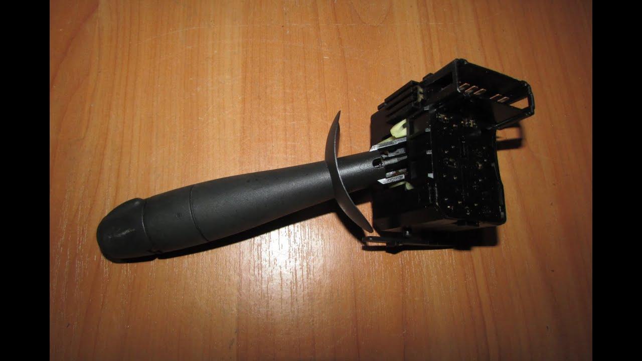 Ремонт переключателя стеклоочистителя рено логан. ремонт переключателя режимов работы дворника.