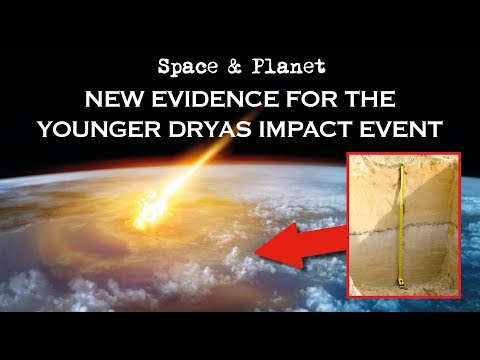 New Evidence for a Younger Dryas Comet Impact Event   Space and Planet