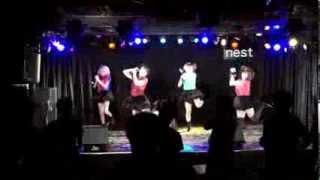 アイドルグループ 『空天シンパルス』 2013.11.09 渋谷O-nest M1 empathy M2 パンタグラフ <メンバー> ナツキ・ナツミ・ユウリ・フミカ.