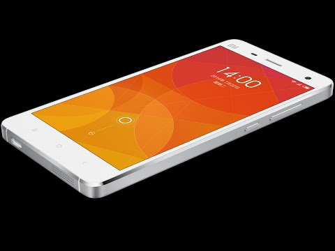 The First XIAOMI MI4 Hands On Openning Box