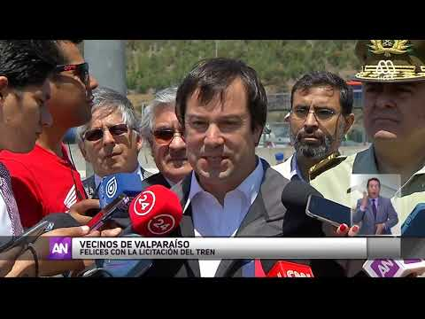Avanza proyecto de Tren Santiago-Valparaíso