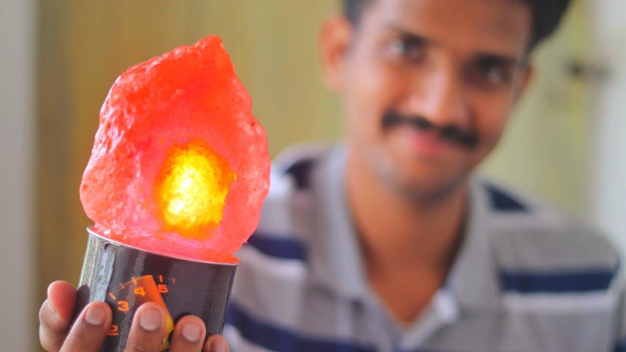 Make Your Own Himalayan Salt Lamp For 2 Diy Rock Salt Lamp Youtube