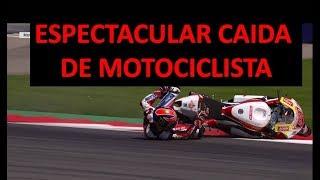 MOTO GP: CAIDA MORTAL abril 2018